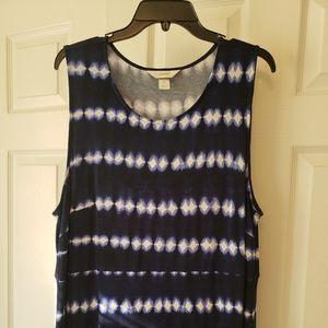 Christopher & Banks Maxi Dress Size 1X